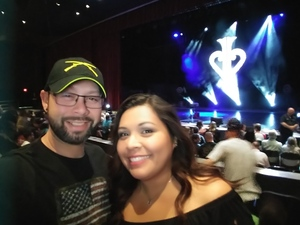 Michael attended David Blaine on May 7th 2018 via VetTix