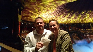 Josh attended Le Reve - the Dream on May 7th 2018 via VetTix