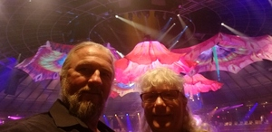 Les attended Le Reve - the Dream on May 7th 2018 via VetTix