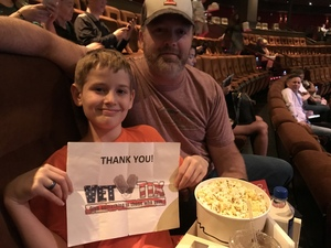 Kelly attended Le Reve - the Dream on May 7th 2018 via VetTix