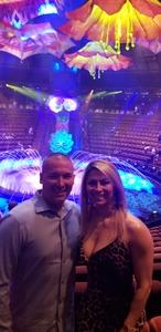 Dana Sawyer attended Le Reve - the Dream on May 7th 2018 via VetTix
