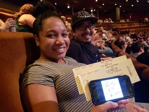 Jamie attended Le Reve - the Dream on May 7th 2018 via VetTix