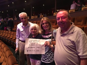Gordon attended Le Reve - the Dream on May 7th 2018 via VetTix