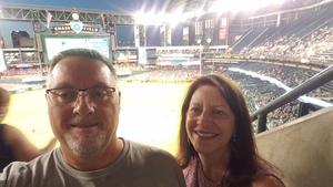 Leonard attended Arizona Diamondbacks vs. Milwaukee Brewers- MLB on May 14th 2018 via VetTix