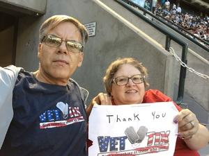 Richard attended Arizona Diamondbacks vs. Milwaukee Brewers - MLB on May 15th 2018 via VetTix