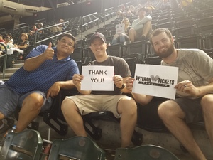 George attended Arizona Diamondbacks vs. Milwaukee Brewers - MLB on May 15th 2018 via VetTix