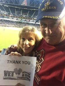 Peter attended Arizona Diamondbacks vs. Milwaukee Brewers - MLB on May 15th 2018 via VetTix