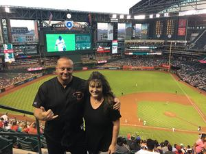 Timothy attended Arizona Diamondbacks vs. Milwaukee Brewers - MLB on May 15th 2018 via VetTix