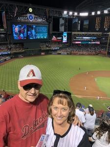 William attended Arizona Diamondbacks vs. Milwaukee Brewers - MLB on May 15th 2018 via VetTix