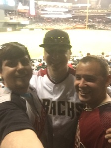 Shane attended Arizona Diamondbacks vs. Milwaukee Brewers - MLB on May 15th 2018 via VetTix