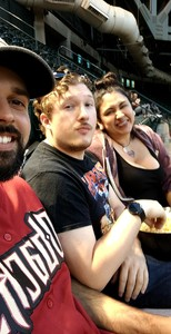 Anthony attended Arizona Diamondbacks vs. Milwaukee Brewers - MLB on May 15th 2018 via VetTix