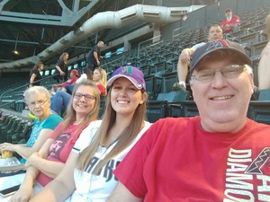 Chris attended Arizona Diamondbacks vs. Milwaukee Brewers - MLB on May 15th 2018 via VetTix
