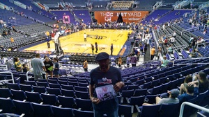 Vernon attended Phoenix Mercury vs. Seattle Storm - WNBA on May 12th 2018 via VetTix