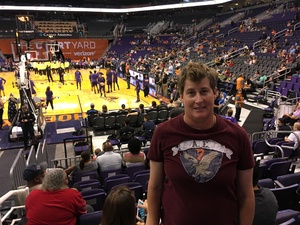 Sarah attended Phoenix Mercury vs. Seattle Storm - WNBA on May 12th 2018 via VetTix