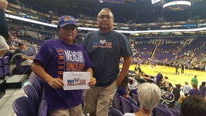 Wil attended Phoenix Mercury vs. Seattle Storm - WNBA on May 12th 2018 via VetTix