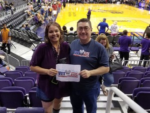 M.Hernandez attended Phoenix Mercury vs. Seattle Storm - WNBA on May 12th 2018 via VetTix