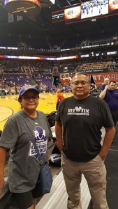 Wil attended Phoenix Mercury vs. Washington Mystics - WNBA on May 30th 2018 via VetTix