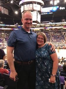 Christopher attended Phoenix Mercury vs. Washington Mystics - WNBA on May 30th 2018 via VetTix