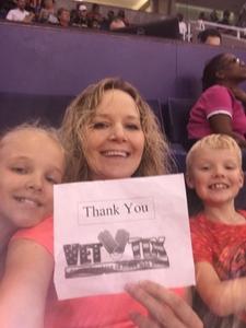 Linda attended Phoenix Mercury vs. Washington Mystics - WNBA on May 30th 2018 via VetTix