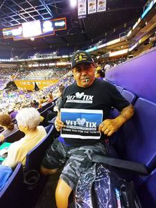 Hector M. attended Phoenix Mercury vs. Washington Mystics - WNBA on May 30th 2018 via VetTix