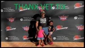 Paris attended Phoenix Mercury vs. Washington Mystics - WNBA on May 30th 2018 via VetTix
