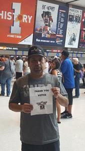 Jesus attended Phoenix Mercury vs. Las Vegas Aces - WNBA on Jun 10th 2018 via VetTix