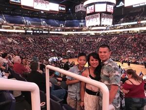 Dondy attended Phoenix Mercury vs. Connecticut Sun - WNBA on Jun 16th 2018 via VetTix
