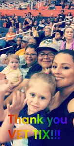 Melissa attended Phoenix Mercury vs. Minnesota Lynx - WNBA on Jun 22nd 2018 via VetTix