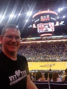 Kurt attended Phoenix Mercury vs. Connecticut Sun - WNBA on Jul 5th 2018 via VetTix