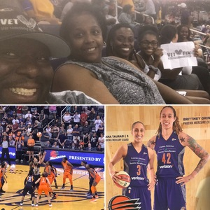 John Graves attended Phoenix Mercury vs. Connecticut Sun - WNBA on Jul 5th 2018 via VetTix