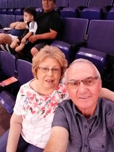 Richard attended Phoenix Mercury vs. Connecticut Sun - WNBA on Jul 5th 2018 via VetTix