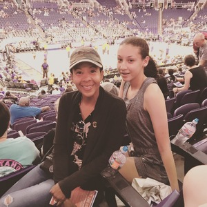 Carole attended Phoenix Mercury vs. Connecticut Sun - WNBA on Jul 5th 2018 via VetTix