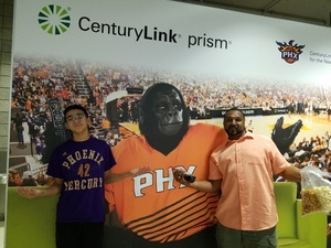Ingrid attended Phoenix Mercury vs. Connecticut Sun - WNBA on Jul 5th 2018 via VetTix