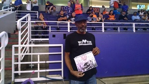 Vernon attended Phoenix Mercury vs. Connecticut Sun - WNBA on Jul 5th 2018 via VetTix