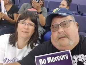 Paul attended Phoenix Mercury vs. Chicago Sky - WNBA on Jul 25th 2018 via VetTix