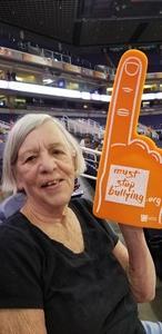 Michelle attended Phoenix Mercury vs. Chicago Sky - WNBA on Jul 25th 2018 via VetTix