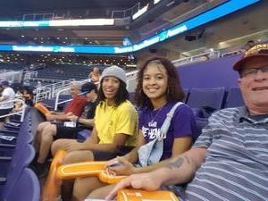 Jack attended Phoenix Mercury vs. Chicago Sky - WNBA on Jul 25th 2018 via VetTix