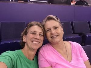 Taime attended Phoenix Mercury vs. Los Angeles Sparks - WNBA on Aug 12th 2018 via VetTix