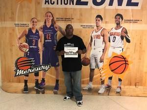 Drew attended Phoenix Mercury vs. Los Angeles Sparks - WNBA on Aug 12th 2018 via VetTix
