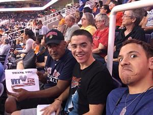 William attended Phoenix Mercury vs. Los Angeles Sparks - WNBA on Aug 12th 2018 via VetTix