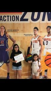 Jeffery attended Phoenix Mercury vs. Los Angeles Sparks - WNBA on Aug 12th 2018 via VetTix