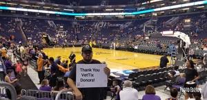 Ralph attended Phoenix Mercury vs. Los Angeles Sparks - WNBA on Aug 12th 2018 via VetTix