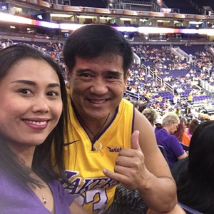 Stephen attended Phoenix Mercury vs. Los Angeles Sparks - WNBA on Aug 12th 2018 via VetTix