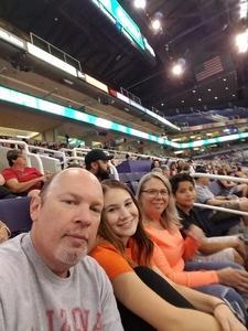 Trenton attended Phoenix Mercury vs. Los Angeles Sparks - WNBA on Aug 12th 2018 via VetTix
