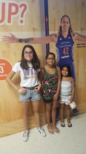 David attended Phoenix Mercury vs. Los Angeles Sparks - WNBA on Aug 12th 2018 via VetTix