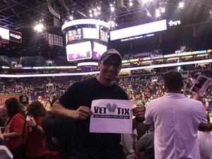 pedro attended Phoenix Mercury vs. Los Angeles Sparks - WNBA on Aug 12th 2018 via VetTix
