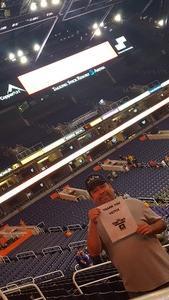 Jesus attended Phoenix Mercury vs. Los Angeles Sparks - WNBA on Aug 12th 2018 via VetTix