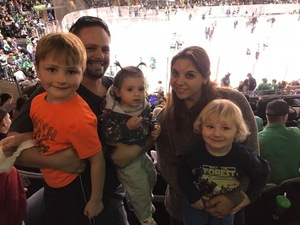Andrew attended Texas Stars vs. Tucson Roadrunners - Game Five - Second Round Playoffs - AHL on May 11th 2018 via VetTix