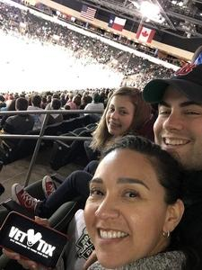 Brandon attended Texas Stars vs. Tucson Roadrunners - Game Five - Second Round Playoffs - AHL on May 11th 2018 via VetTix