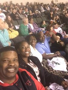 Verdell attended Texas Stars vs. Tucson Roadrunners - Game Five - Second Round Playoffs - AHL on May 11th 2018 via VetTix